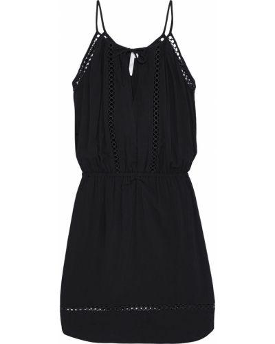 Кружевное платье мини - черное Seafolly