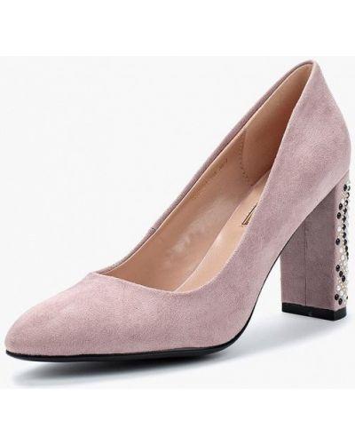 Розовые туфли на каблуке Inario