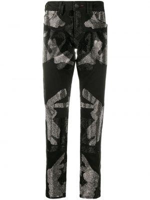 Прямые джинсы классические - черные Philipp Plein