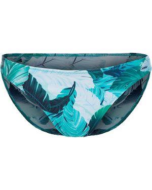 Спортивный купальник с высокой талией зеленый Joss