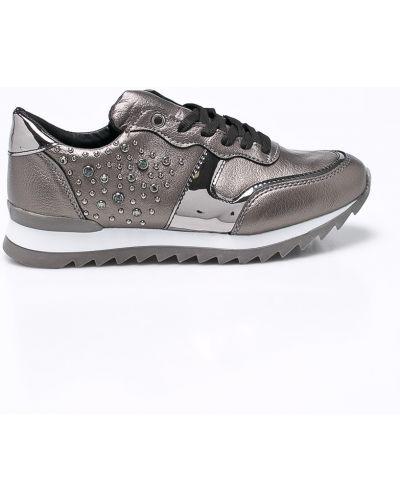Кроссовки серебряного цвета Trendyol