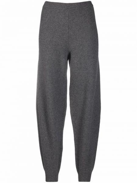 Шерстяные брюки - серые Semicouture