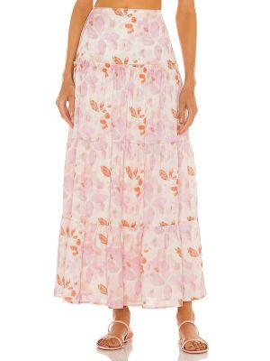 Розовая юбка короткая House Of Harlow 1960