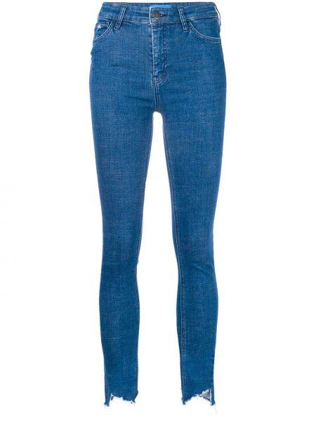 Хлопковые джинсы - синие Mih Jeans