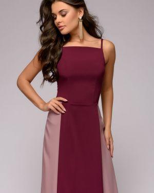 Вечернее платье летнее на бретелях 1001 Dress