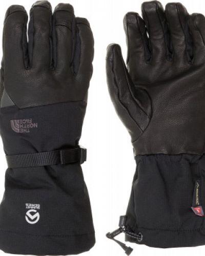 Кожаные перчатки текстильные спортивные The North Face
