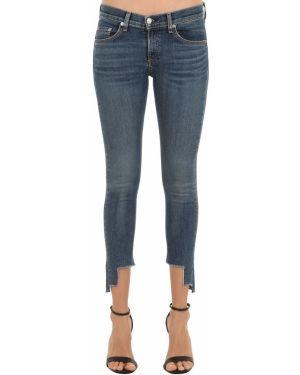 Джинсовые зауженные джинсы - голубые Rag&bone