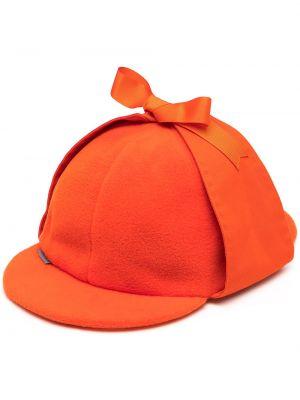 Czapka - pomarańczowa Anglozine