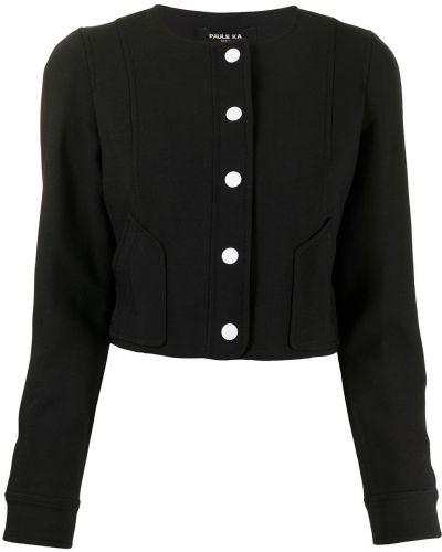 Шерстяной пиджак - черный Paule Ka