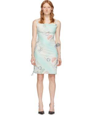 Нейлоновое спортивное платье с воротником Miaou