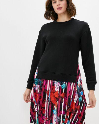 Разноцветное платье Bikkembergs