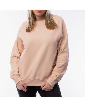 Розовый свитшот Carhartt Wip