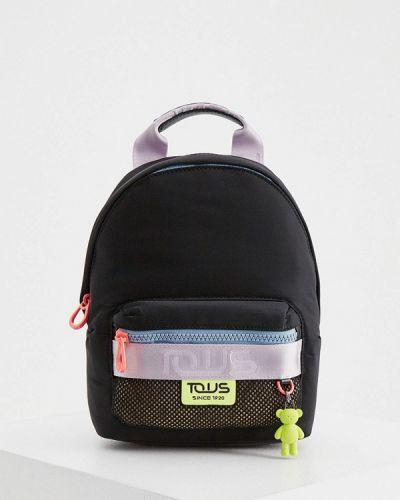 Рюкзак из полиэстера - черный Tous
