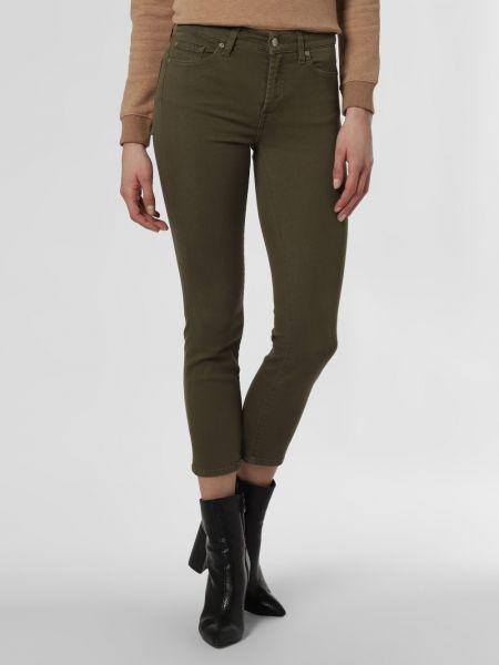 Spodnie - zielone 7 For All Mankind