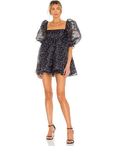 Czarna sukienka Selkie