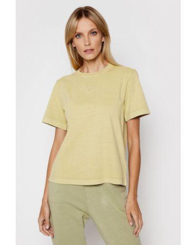 T-shirt - zielona Reebok Classic