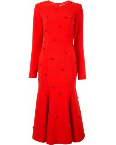 Приталенное платье миди Dalood