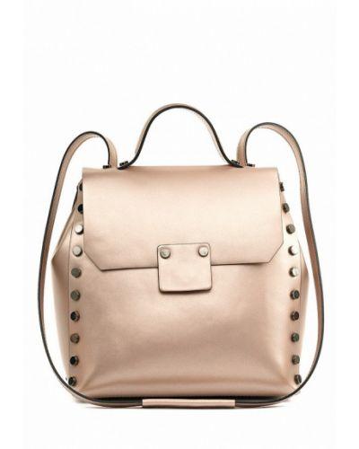 Кожаный рюкзак золотого цвета Vivat Accessories
