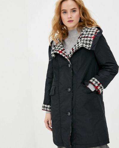 Черная утепленная куртка Dixi Coat