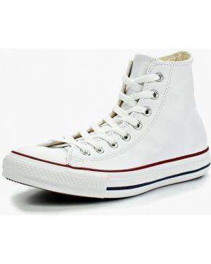 Высокие кеды белые демисезонный Converse