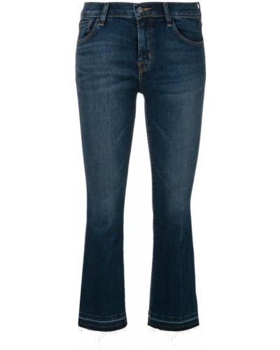 Расклешенные джинсы укороченные J Brand