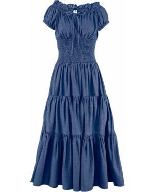 Вечернее платье летнее джинсовое Bonprix