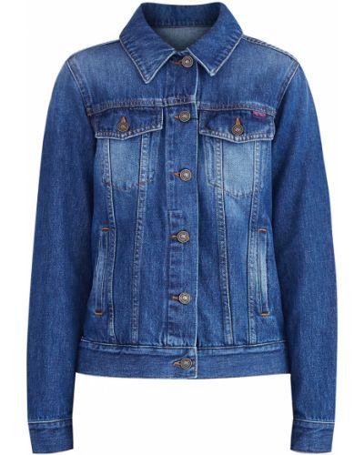 Джинсовая куртка из полиэстера с карманами Kenzo