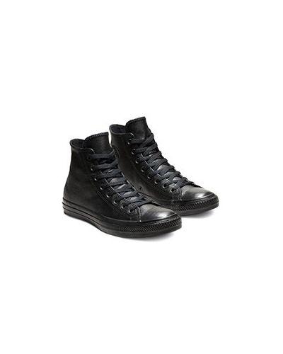 Черные кроссовки Converse