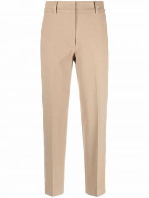 Бежевые хлопковые брюки Seventy