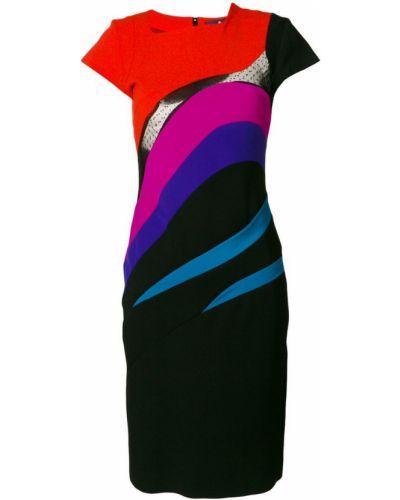 Платье миди шелковое приталенное Capucci