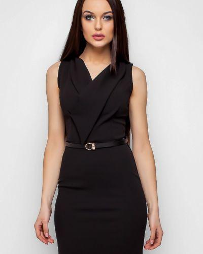 Черное платье весеннее Karree