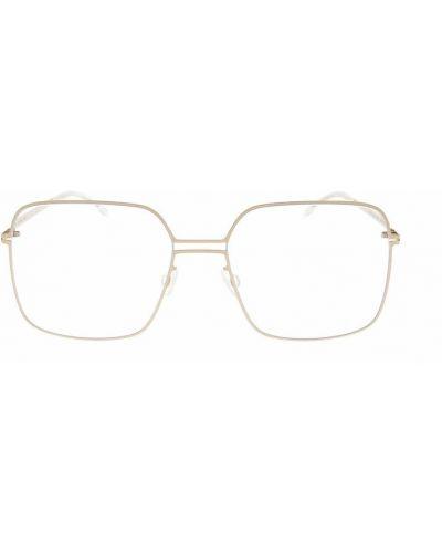 Beżowe okulary Mykita