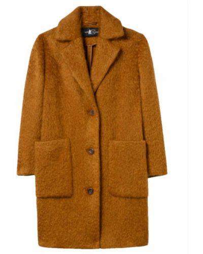 Brązowy płaszcz Luisa Cerano