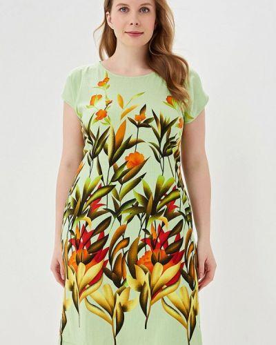Платье зеленый Louitex