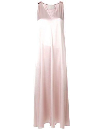 Платье макси с V-образным вырезом на бретелях Cédric Charlier