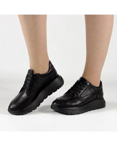Кожаные кроссовки Morento