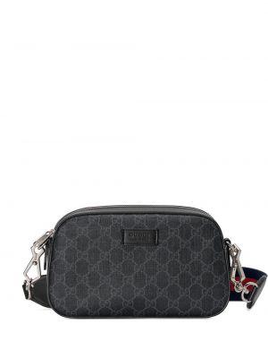 Talia torba z płótna z wzorem Gucci