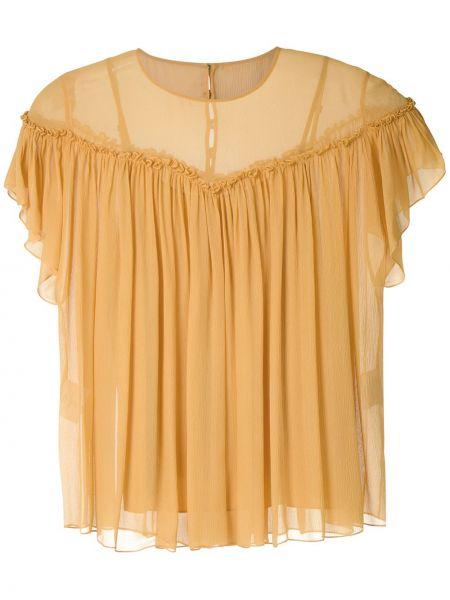 Блузка из фатина прямая НК