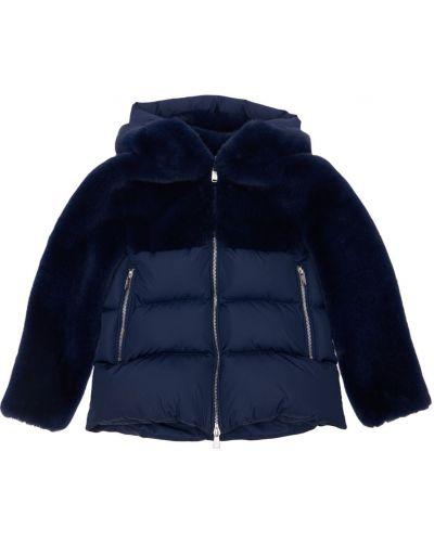 Нейлоновая дутая куртка с капюшоном Bomboogie