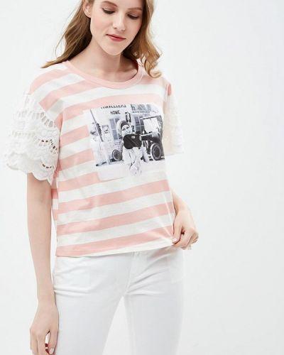 Розовая футболка Brigitte Bardot