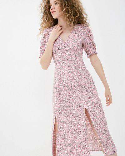 Прямое розовое платье А-силуэта Befree