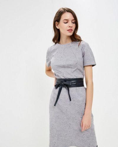 Вечернее платье серое осеннее Irina Vladi
