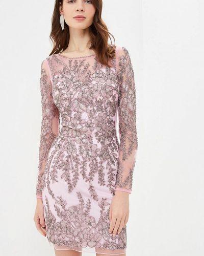 Вечернее платье розовое Jan Steen