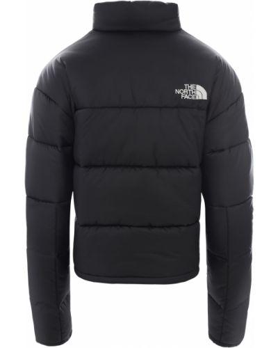 Утепленная черная куртка The North Face