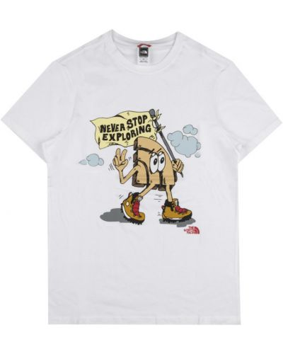 T-shirt oversize z printem The North Face