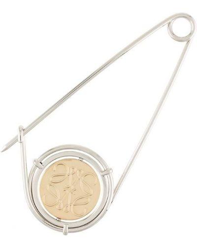 Брошь серебряный Loewe