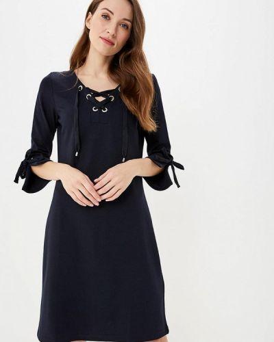 Платье - синее Taifun