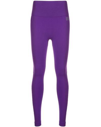 Фиолетовые леггинсы эластичные Monreal London