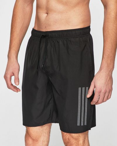 Плавки с карманами черные Adidas Performance