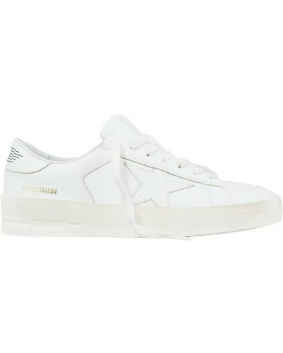 Sneakersy - białe Golden Goose